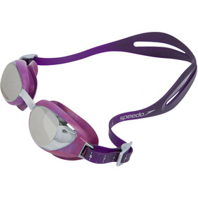 speedo Aquapure Max Mirror V2 Lunettes de protection Femme, purple/silver